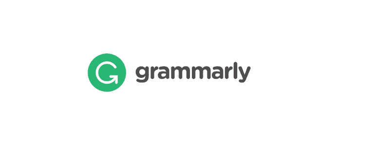 Image shows the software called Grammarly's logo
