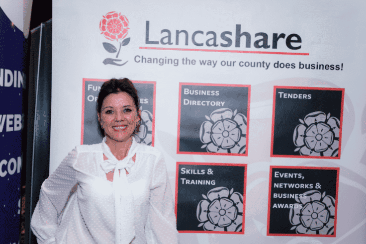 Photo of Lisa Edge from Lancashare exhibiting at Blackpool Expo 2019