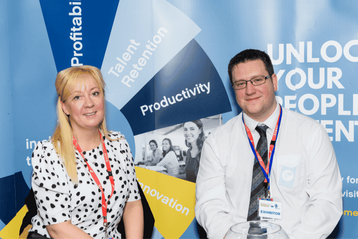 Photo of exhibitors at Business Expo Wigan